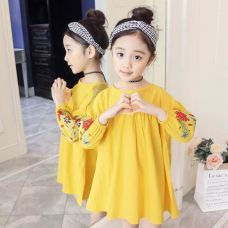 Buy Stylish Yellow Dress with Full Sleeve for Rs. 769