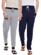 Men Pack Of 2 Lounge Pants for Rs. 505