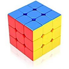 Photron CUB333 Magic Speed Cube 3x3x3, High Stability, Stickerless, Amazing Stress Reliever Cube Game, Easy Turning and Smooth Play Puzzle Toy, Multi-Color for Rs. 38
