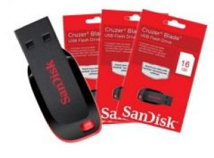 Buy Sandisk 16gb Pen Drive from Rediff