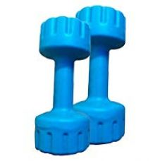 Buy Aurion M1 Plastic Dumbell 1 KG x 2 (Blue) from Amazon
