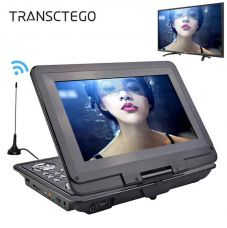 Buy TRANSCTEGO Portable DVD Player Car TV 13.9 Inch Large LCD Screen Players for Game FM DVD VCD CD MP3 MP4 with Gamepad TV Antenna from snapdeal