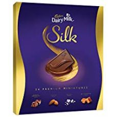 Cadbury Dairy Milk Silk Miniatures Chocolate Gift Box, 240g for Rs. 439