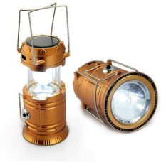 LED Solar Rechargeable 6-9 W Torch Light/ Emergency Lamp (Assorted Colors) for Rs. 239
