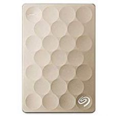 Seagate 2TB Backup Plus Ultra Slim USB 3.0 Portable 2.5 Inch External Hard Drive for PC and Mac with Free Seagate Rescue - 2 Year Data Recovery Plan - Gold for Rs. 6,399