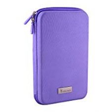 Amazon Brand - Solimo Travel Case for Small Electronics and Accessories (Purple) for Rs. 599