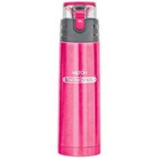 Buy Milton Atlantis-600 Thermosteel Water  Bottle,600 ml,Pink from Amazon
