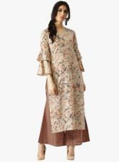 Libas Multicoloured Printed Palazzo Kurta Set for Rs. 759