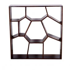 Ringabell Multi-Storage Solid Wood Book Shelf (Mahogany) for Rs. 12,099