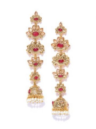 Gold-Plated Jhumkas for Rs. 990