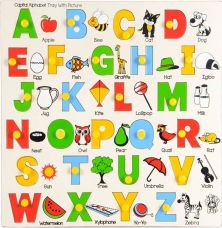 Buy Skillofun Alphabet Tray - Capital with Picture(Multicolor) for Rs. 312