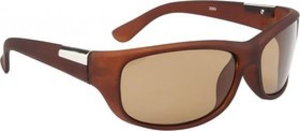 O positive Brown Wrap-around Sunglasses for Rs. 199