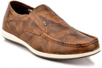 Buy Lee Cooper Loafers For Men  (Tan) for Rs. 1,689