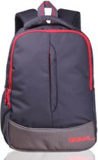 Buy F Gear Grey Red Polyester Casual Backpack from ShopClues