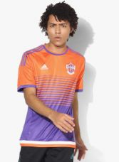 Buy ADIDAS Fcpc Football Orange Sports Jersey for Rs. 874