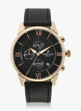 Buy Daniel Klein Black/Black Analogue Watch for Rs. 3640