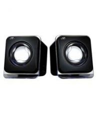 Terabyte E-02B 2.0 Multimedia Speakers for Laptop, PC, Mobiles & more- Black for Rs. 261