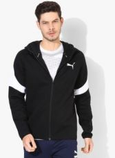 Buy Puma Black Sweat Jacket for Rs. 2499