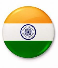 Buy Asmitta Indian National Flag brooch button for Republic / Independence Day from SnapDeal