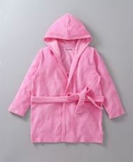Buy Babyoye Full Sleeves Hooded Bath Robe - Pink for Rs. 374