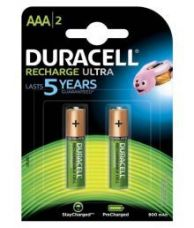 Buy Duracell NiMH AAA 900mAh Rechargeable Battery 2 from SnapDeal