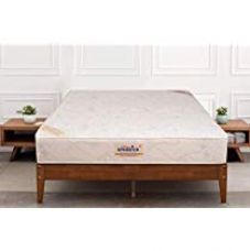 Flat 68% off on Springtek Ortho Pocket Spring 6-inch King Size Mattress (White, 78...