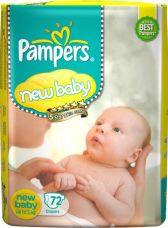 Buy Pampers Active Baby Diapers - New Born from Flipkart