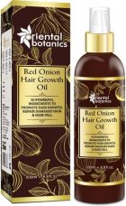 Buy Red Onion Hair Growth Oil, 200ml - With 30 Oils & Extra from Flipkart