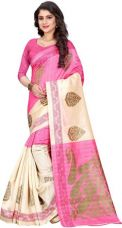 Buy Printed Fashion Poly Silk Saree for Rs. 599