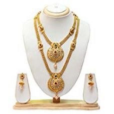 Get 93% off on Swarajshop Copper Gold-Plated Green Maroon Colour Gold Plate