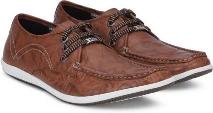 Lee Cooper Corporate Casuals For Men  (Brown) for Rs. 1,728
