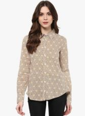 Buy Mayra Multi Printed Regular Fit Casual Shirt from Jabong
