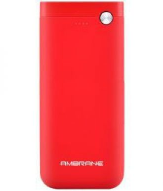 Get 67% off on Ambrane PP-20 20000 -mAh Li-Polymer Power Bank Red