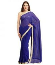 Georgette Saree With Blouse for Rs. 798