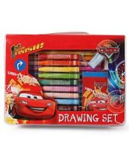 Flat 24% off on Disney Pixar Cars Drawing Stationery Set - Multicolour