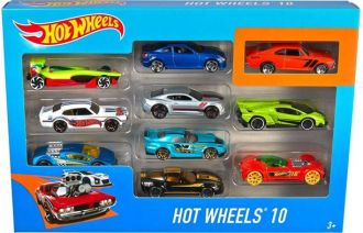 Flat 23% off on Hot Wheels 10 cars Gift Pack