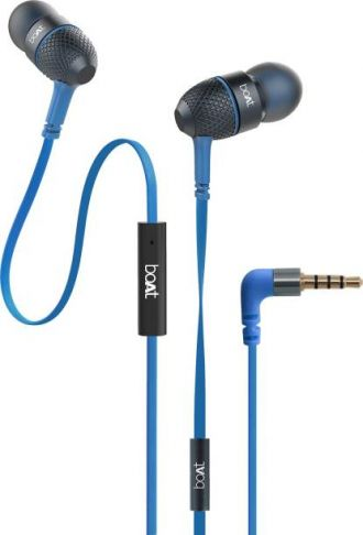 Buy boAt BassHeads 220 Super Extra Bass Wired Headset with  from Flipkart