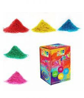 Flat 36% off on Holi DealBindaas Rangotasav Holi Colour Herbal Gulal 250 Gms 5 Shades| NonToxic | Eco Friendly | 100% Safe 5 Pack of 50 Gms Each