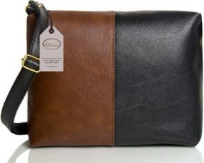 Get 73% off on Mammon Women's Black & Brown Sling Bag(slg-tb, Size-11x8 inch)