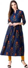Casual Floral Print Women Kurti for Rs. 599