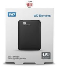 Get 49% off on WD Elements 1.5 TB External Hard Drive (Black)