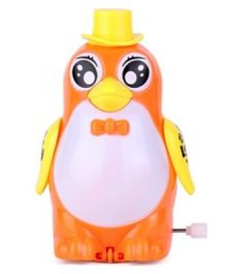 Buy Playmate Wind Up Penguin Toy -  Orange for Rs. 113
