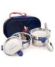 Buy Falcon Eco Nxt Stainless Steel Lunch Box Set With from FirstCry