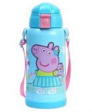 Buy Peppa Pig Insulated Sipper Water Bottle  Blue - 350 ml for Rs. 272