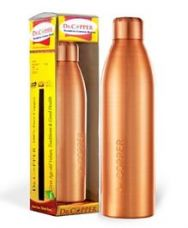 Buy Dr Copper Water Bottle Metallic Gold - 1000 ml from FirstCry