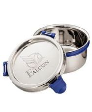 Flat 8% off on Falcon Eco Nxt Stainless Steel Container - Silver