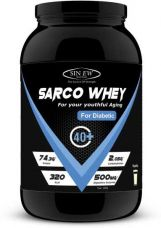 Sinew Nutrition Sarco Whey Protein Low Sugar for Diabetic, Pre & Post Workout Whey Protein for Rs. 1,999