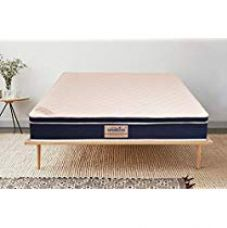 Flat 37% off on Springtek Eurotop Latex Top 8inch King Size Mattress White
