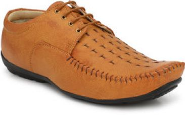 Buy Lee Peeter Men's Tan Formal Shoe for Rs. 469