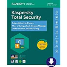 Buy Kaspersky Total Security - 1 User 1 Year (Email Delivery- No CD) for Rs. 699